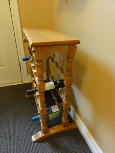 Oak Wine Rack Peterborough Peterborough Area image 2