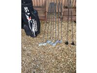 Donnay Golf Clubs and Bag