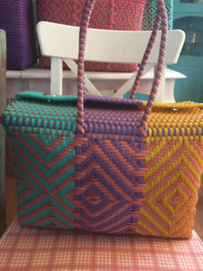 Mexican hand-woven HAND BAGS