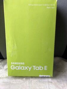"Open Box Samsung Galaxy Tab E 9.6"" 16 GB Black Android Tablet"