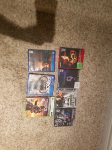 Ps3, ps4, and xbox360 games