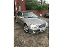 2005 Mercedes-Benz C220 2.1TD auto CDI Elegance SE+lovely condition+7 stamps