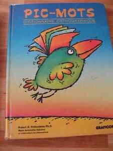 Pic-Mots Dictionnaire orthographique   Utilisé à l'école