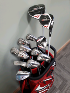 Callaway golf XHot woods and X Hot irons