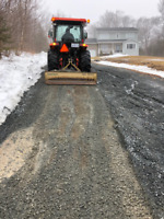 Driveway grading and more