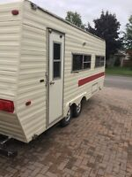 1978 Holiday Camper 23ft  ( $1500 FIRM ) **WELL MAINTAINED** !