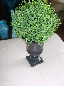 Home decor - Artificial plant / Vase, 16 inches total