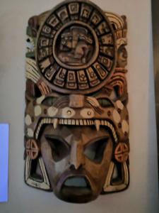 Wooden African head