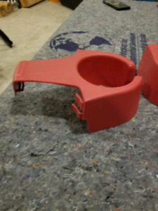 Drink holder and table for muskoka chairs