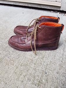 Adidas Ransom boots - Purple & orange - Size 12