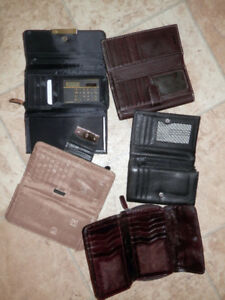 4 purses, 5 wallets and more (SAK, Roots, UC of Benneton…)