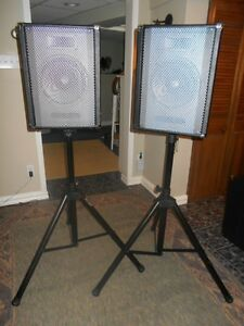 VIBE 4 CHANNEL PA SYSTEM AND STANDS