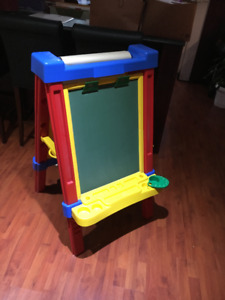 Child's Easel - chalk-paint-white board
