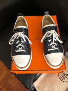 Hermes inside sneaker, Dolce and Gabbana sneakers
