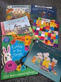 8 book bundles, mixed... girls, boys, funny, xmas etc etc