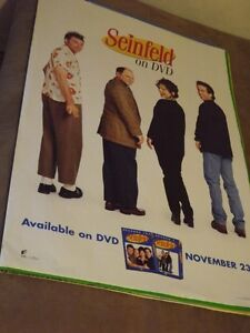 3  JERRY SEINFELD & KRAMER COLLECTORS ITEMS:BOOK,2 POSTERS