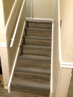 supply and install Vinyl Laminate, Vinyl tiles, Residential and