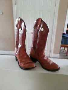 Western cowboy boots Men's size 8.5 EEE - Great for Halloween