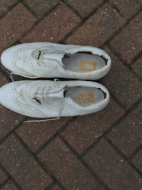 Golf shoes Adult Size 12/13 white brogue by Stylo