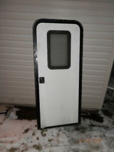"30"" RV Door w/ Screen Door"
