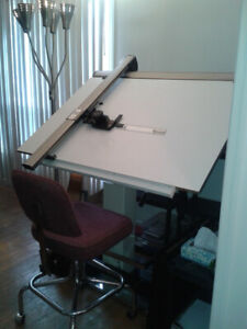 Architects technical drawing/drafting table MUST SELL!