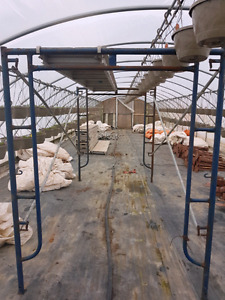 Scaffolding and scaffold accessories