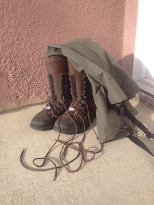 Hip Boots - Cabela's Tundra Boots (Size 10)