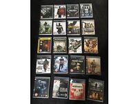 Job lot of PS3 games