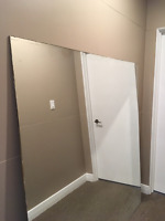 MIRROR - LARGE 5 foot square-perfect for GYM, Basement, Office