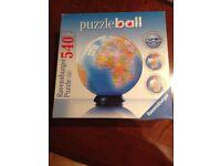 Ravensburger puzzle ball world map