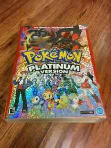 Pokemon platinum (Official guide)