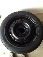 """15"""" Nokian winter tires and rims for sale"""