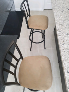 •••  2  BAR  STOOLS  FOR  SALE •••