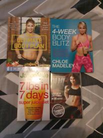 Fitness / weight loss book dvd