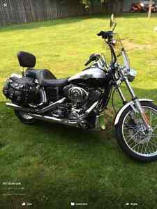 2003 Harley Davidson Dyna Wide Gluide 100th Aniversary Bike
