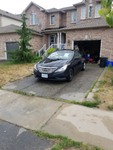 2012 Hyundai Sonata GL with BRAND NEW engine for sale