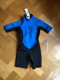 Kids wetsuit, approx 5yo