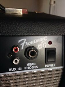 Fender Frontman 15G Guitar/Bass Amp Cambridge Kitchener Area image 2