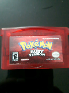 Very clean copy of Pokemon ruby