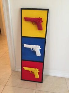 Handgun Print