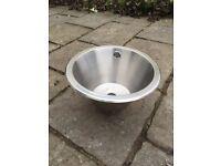 Round sink bowl