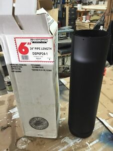 """Wood stove pipe 6""""x24"""" double wall Peterborough Peterborough Area image 3"""