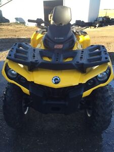 2015 NEW Can-am Outlander 800 with power steering