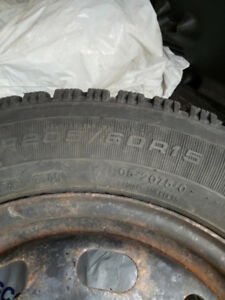 Winter tires, 205/60R15 $300 or will Swap for ones I need