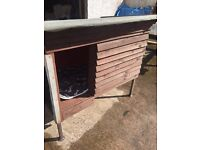 Large dog box insulated