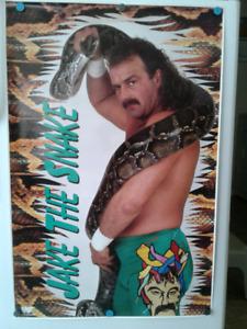 Jake the Snake Poster