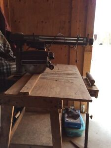 """Sears craftsman radial arm saw 10"""". Works well great for shop"""