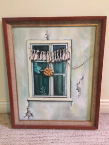 **PRICE DROP** Original Framed Acrylic Painting