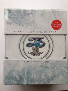 Ys VIII: Lacrimosa of Dana Limited Edition - PS Vita (sealed)