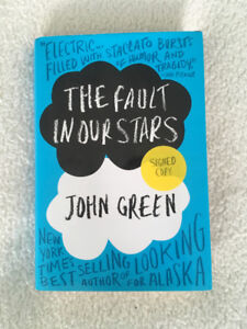 The Fault in Our Stars John Green Signed